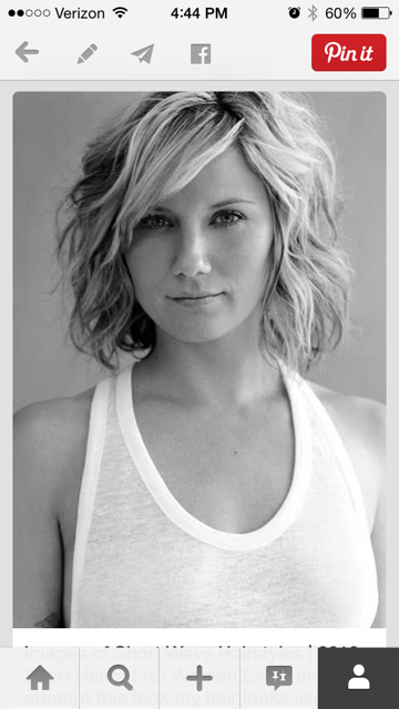 July 2014 happy little honey i dont really love the other styles in the link but i love jennifer nettles short wavy haircut i have to be honest this humidity down here is not doing winobraniefo Gallery